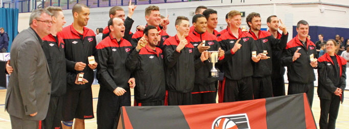 Liverpool defeated BC Medelynas in the 2013/14 NBL Division 4 Play-Off Final to become Champions