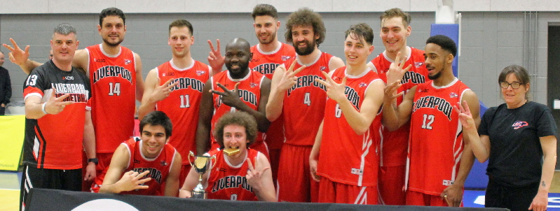 Liverpool defeated Solent Kestrels in the 2015/16 NBL Division 2 Play-Off Final to become Champions
